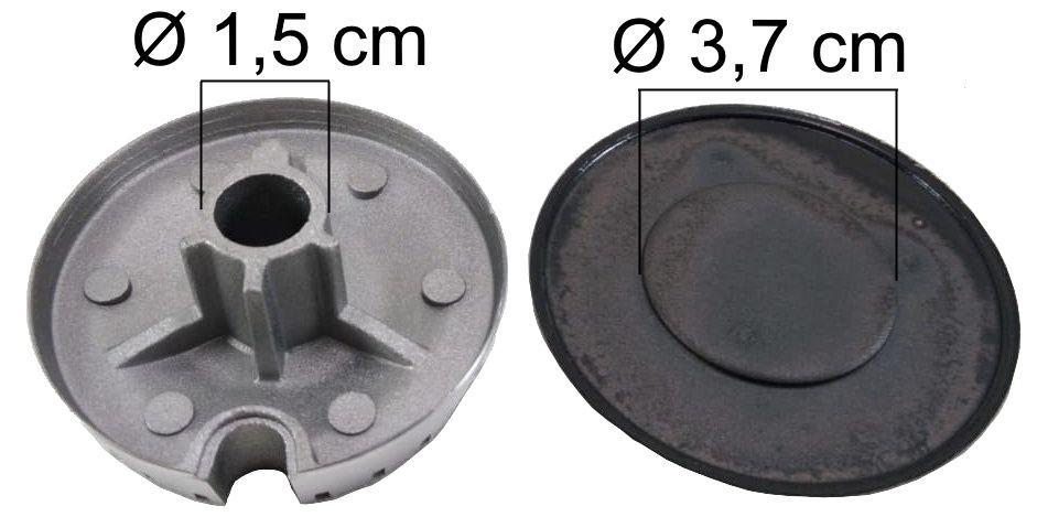 Queimador Completo BRASTEMP/CONSUL Boca Pequena - Ref. QCBCBP