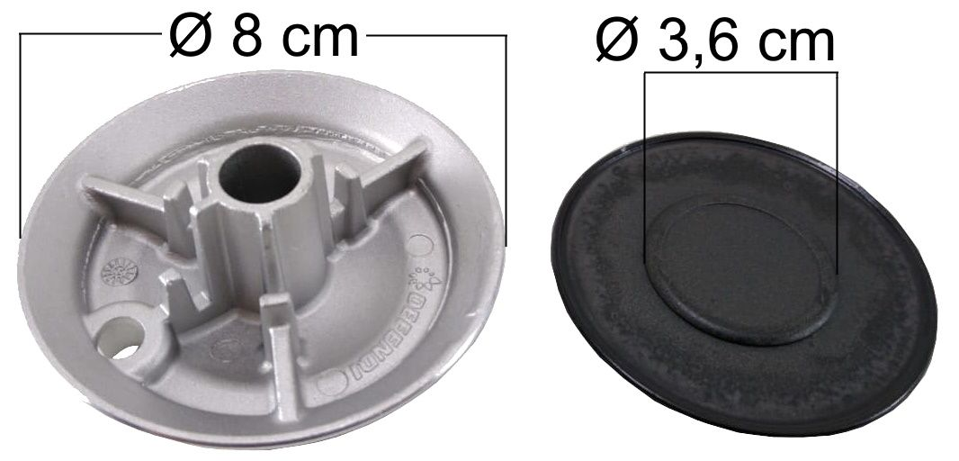Queimador Completo BRASTEMP/CONSUL FRONTIER Boca Pequena - Ref. QCBCFBP