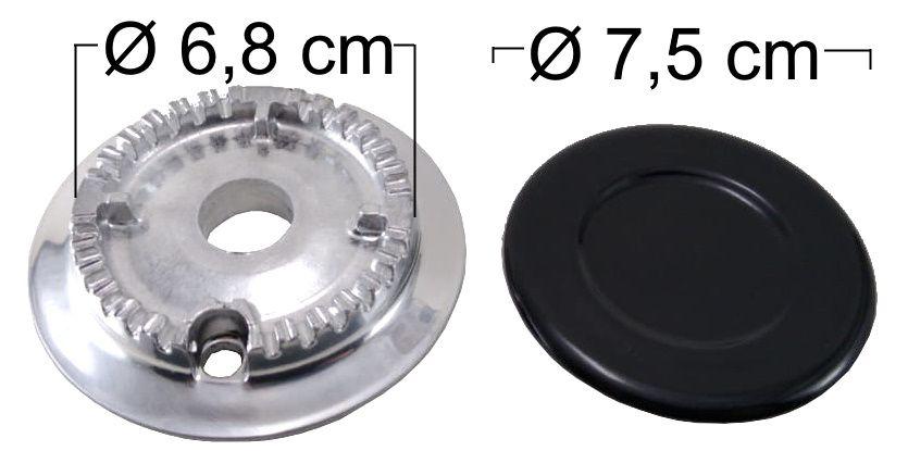 Queimador Completo CONTINENTAL/BOSCH Boca Pequena - Ref. QCCBBP