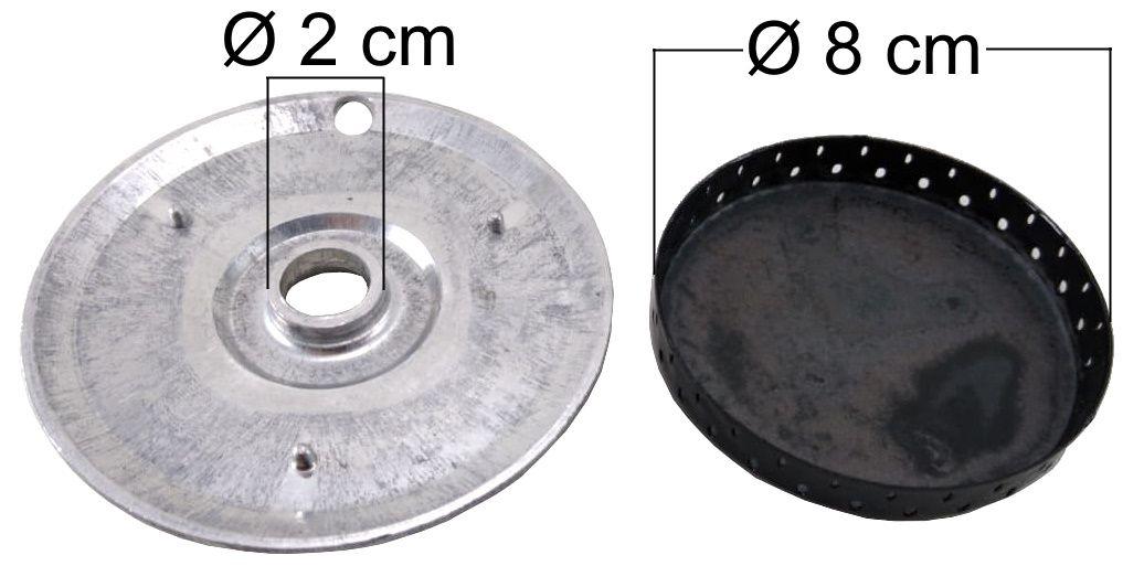 Queimador Completo DAKO/MULLER Boca Gigante - Furo de Encaixe 2cm - Ref. QCDMBGIFP