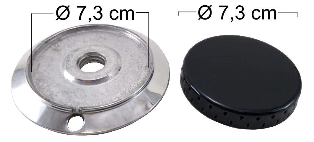 Queimador Completo DAKO/MULLER Boca Grande - Furo de Encaixe 2cm - Ref. QCDMBGFP