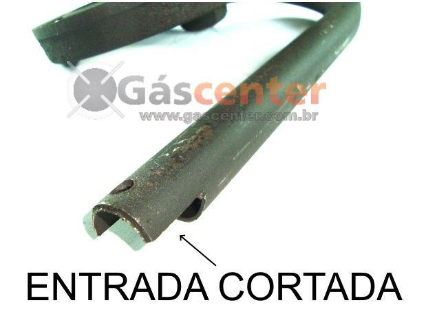 Queimador DAKO COURAÇADO ANTIGO Curva pra ESQUERDA - ENTRADA CORTADA - Ref. 01256