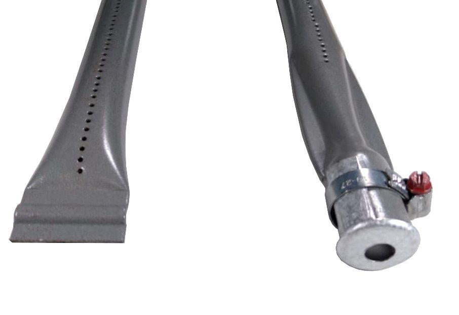 """Queimador de CHAPA 1"""" - 320mm - Curva pra ESQUERDA - Ref. 01998"""