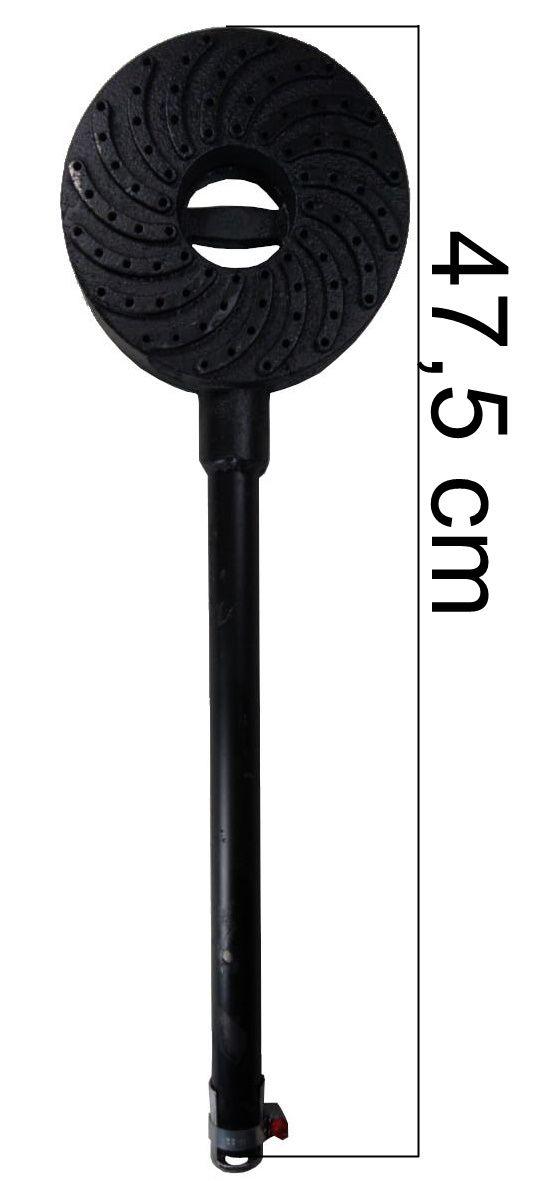 Queimador Alta Pressão REAL 141mm com Tubo de 30cm - Ref. 02647