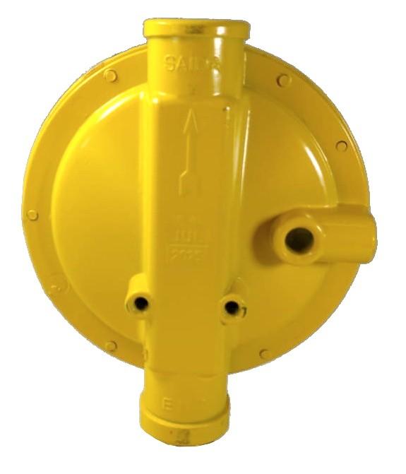 Regulador de Gás ALIANÇA - 12Kg/h AMARELO - GLP - 76511 AM - Ref. 03023
