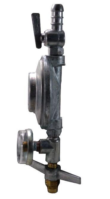 Regulador de Gás ALIANÇA - 1kg/h com Manômetro - GLP - Ref. 01737