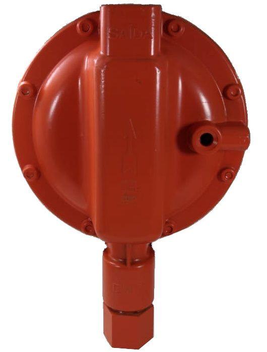 Regulador de Gás ALIANÇA - 50Kg/h LARANJA - GLP - 76510/1 LJ - Ref. 01206