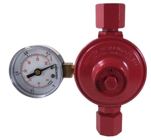Regulador de Gás ALIANÇA - 9Kg/h - GLP - 76501/2 VMM - Ref. 00454