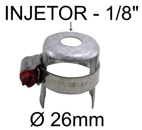 Regulagem de Ar Queimadores Industriais BREY GRANDE - Tubo até 26mm - Ref. 02392