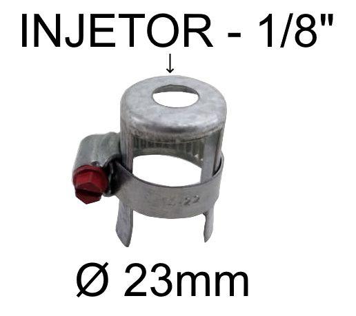 Regulagem de Ar Queimadores Industriais BREY PEQUENA - Tubo até 23mm - Ref. 02926
