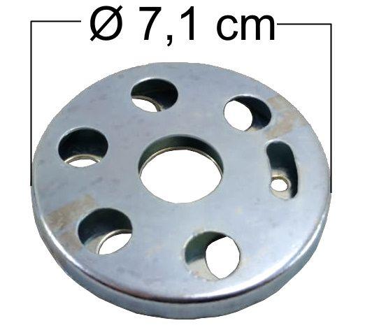 Regulagem de Ar Queimadores Industriais GRANDE - Ref. 01288