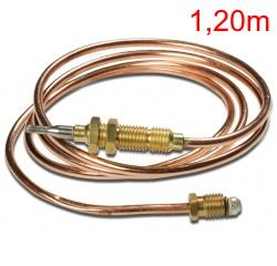 Termopar/Sensor de Chama UNIVERSAL - 1,20m - Rosca 7,8mm - Ref. 01717