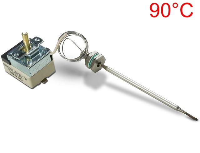 Termostato CAEM - de 30°C à 90°C - 20 ampere - Bivolt - com Bucha M14 - Ref. 02673