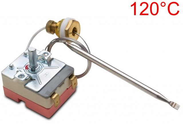Termostato PERSICONTROLS - de 30°C à 120°C - 16 ampere - Bivolt - com Bucha M14 - Ref. 02284