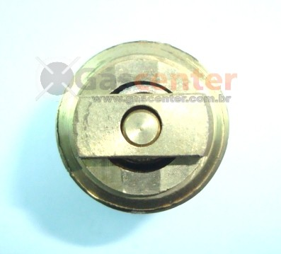 "Válvula 3/4""NPT(M) x Botijão P13 (Rosca Grossa) - Ref. 00008"