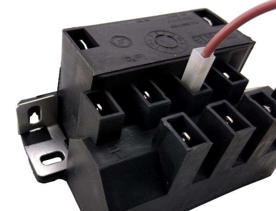 Vela/Eletrodo Acendimento Automático ESMALTEC MODERNA CURTA - TERMINAL FINO - Ref. 02950