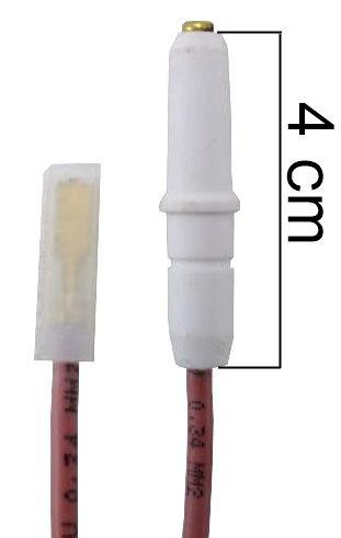 Vela/Eletrodo Acendimento Automático ESMALTEC LONGA - TERMINAL FINO - Ref. 01045