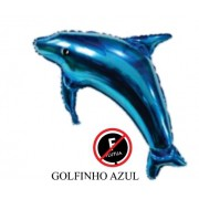 BALÃO BICHINHO: GOLFINHO AZUL