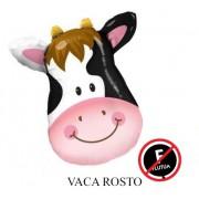BALÃO BICHINHO: VACA ROSTO