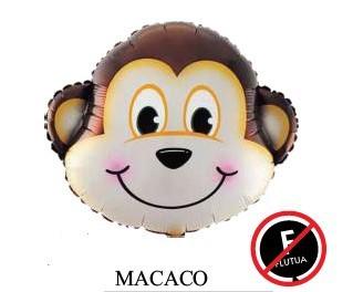BALÃO BICHINHO: MACACO