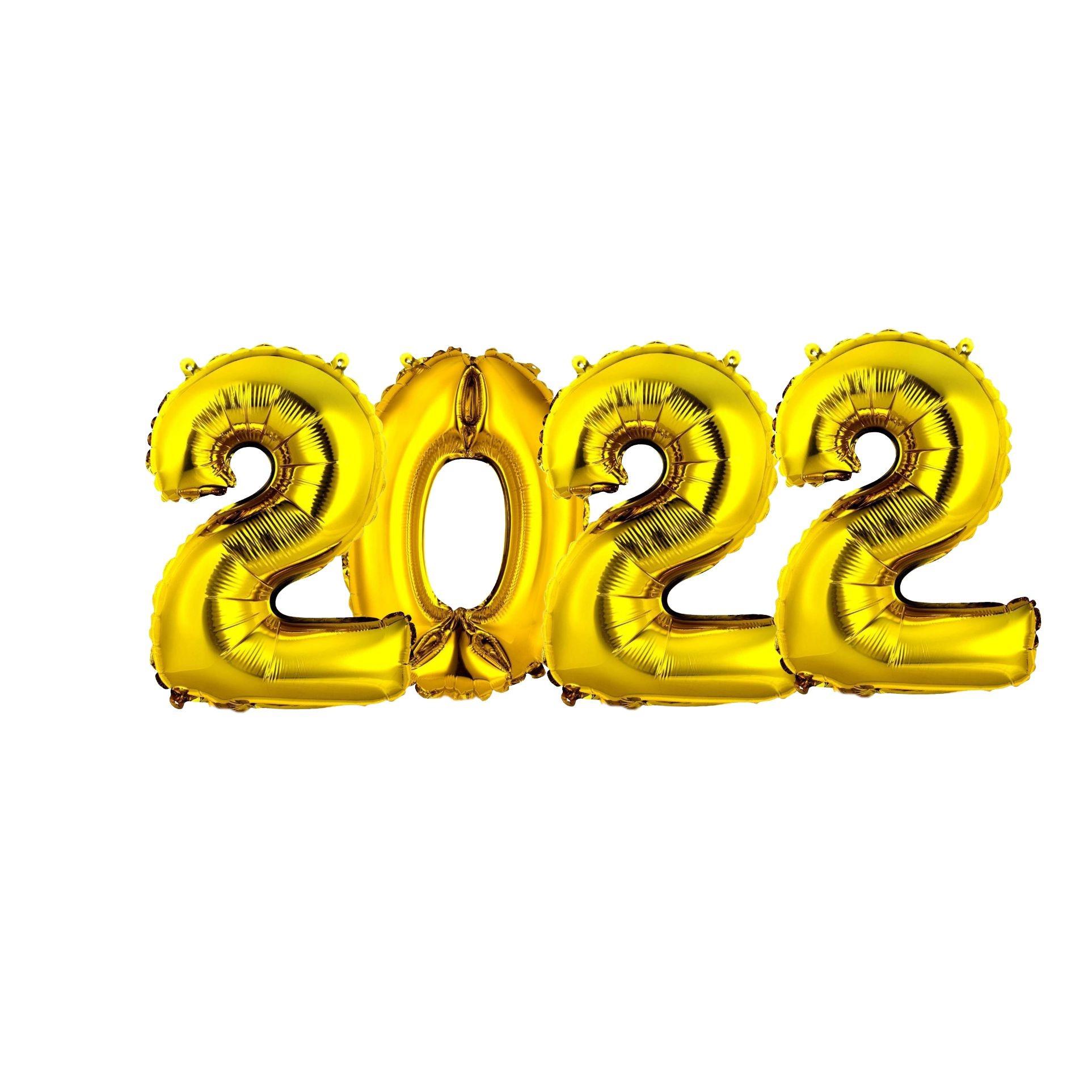 """BALÃO KIT NUMERAL """"2022"""""""
