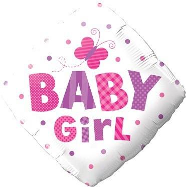 "BALÃO LOSANGO ""BABY GIRL"""