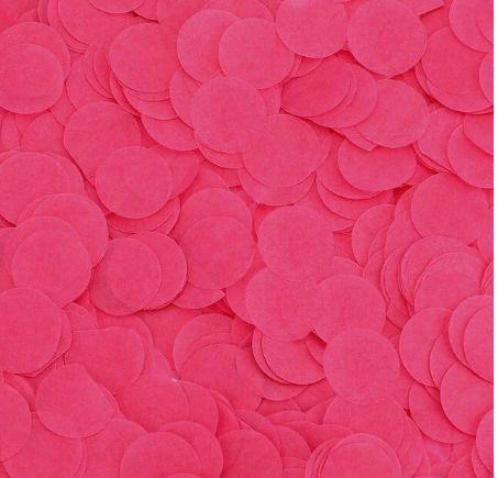 CONFETE DE PAPEL DE SEDA 10gramas COR: ROSA PINK
