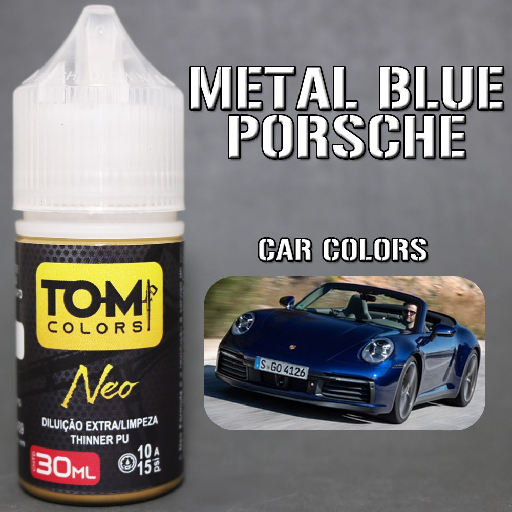 Azul Metálico Porsche