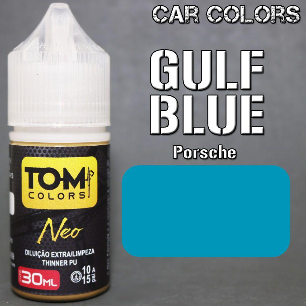 Azul Porsche Gulf