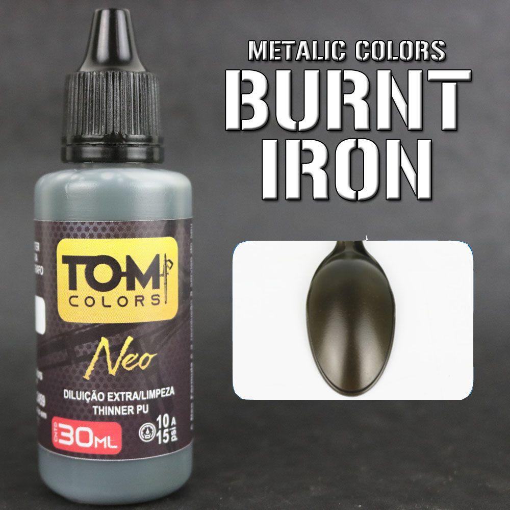 Burnt Iron (metal queimado metálico)