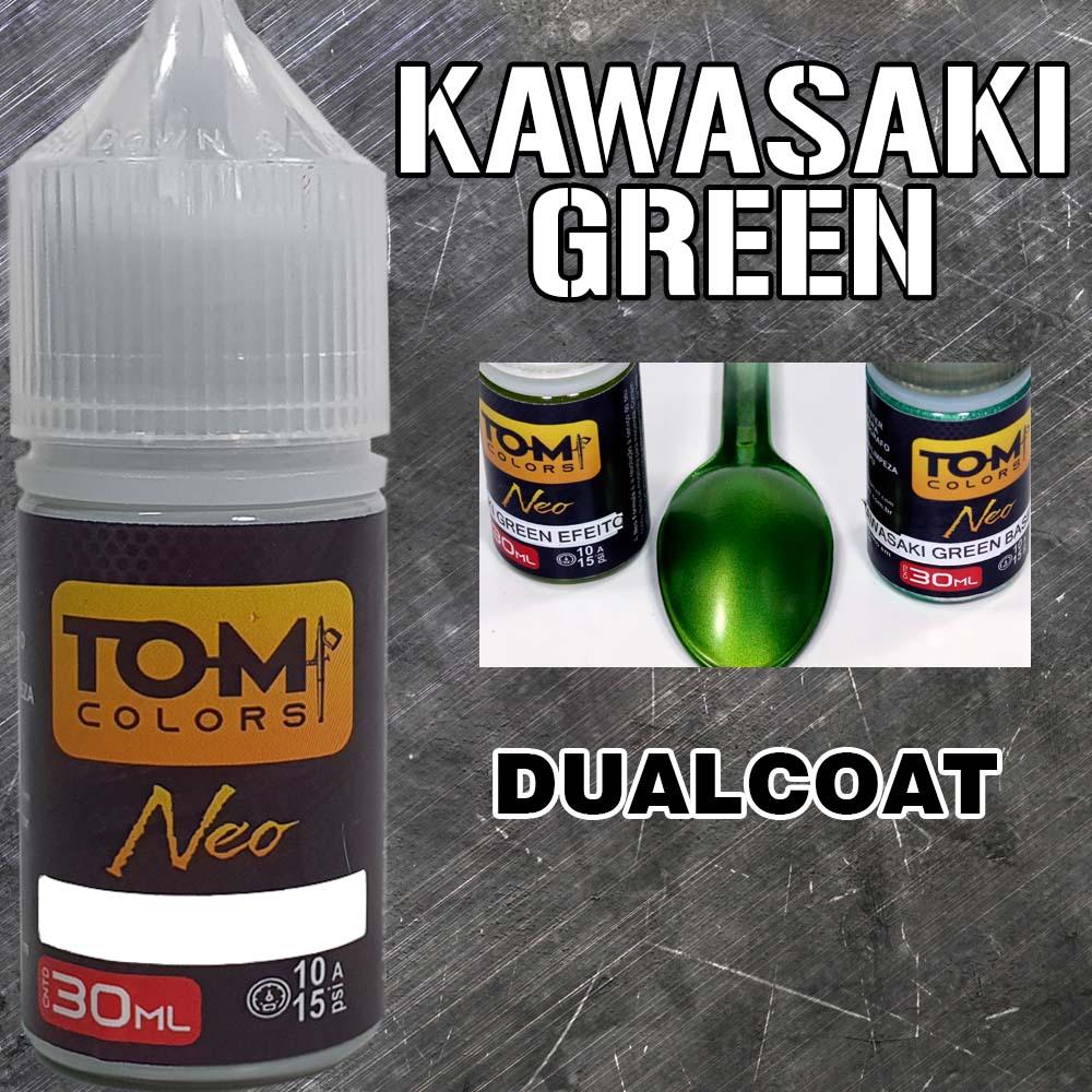 Kawasaki Green (Dualcoat: cor base + efeito)