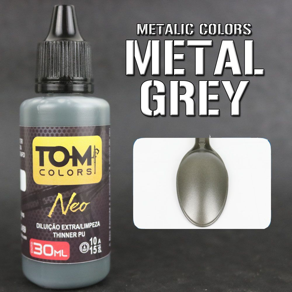 Metalic Grey (cinza metálico)