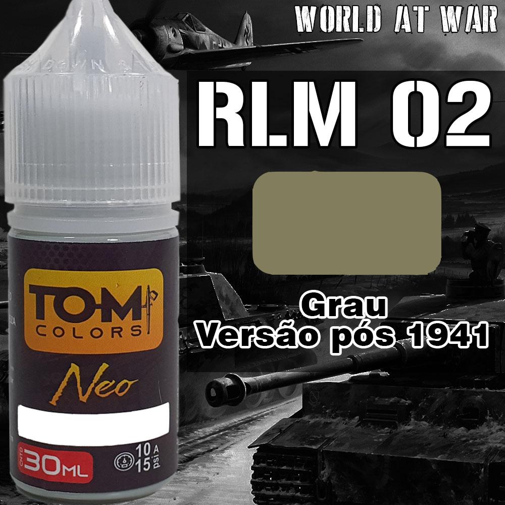 RLM 02 Grau Late (pós 1941)