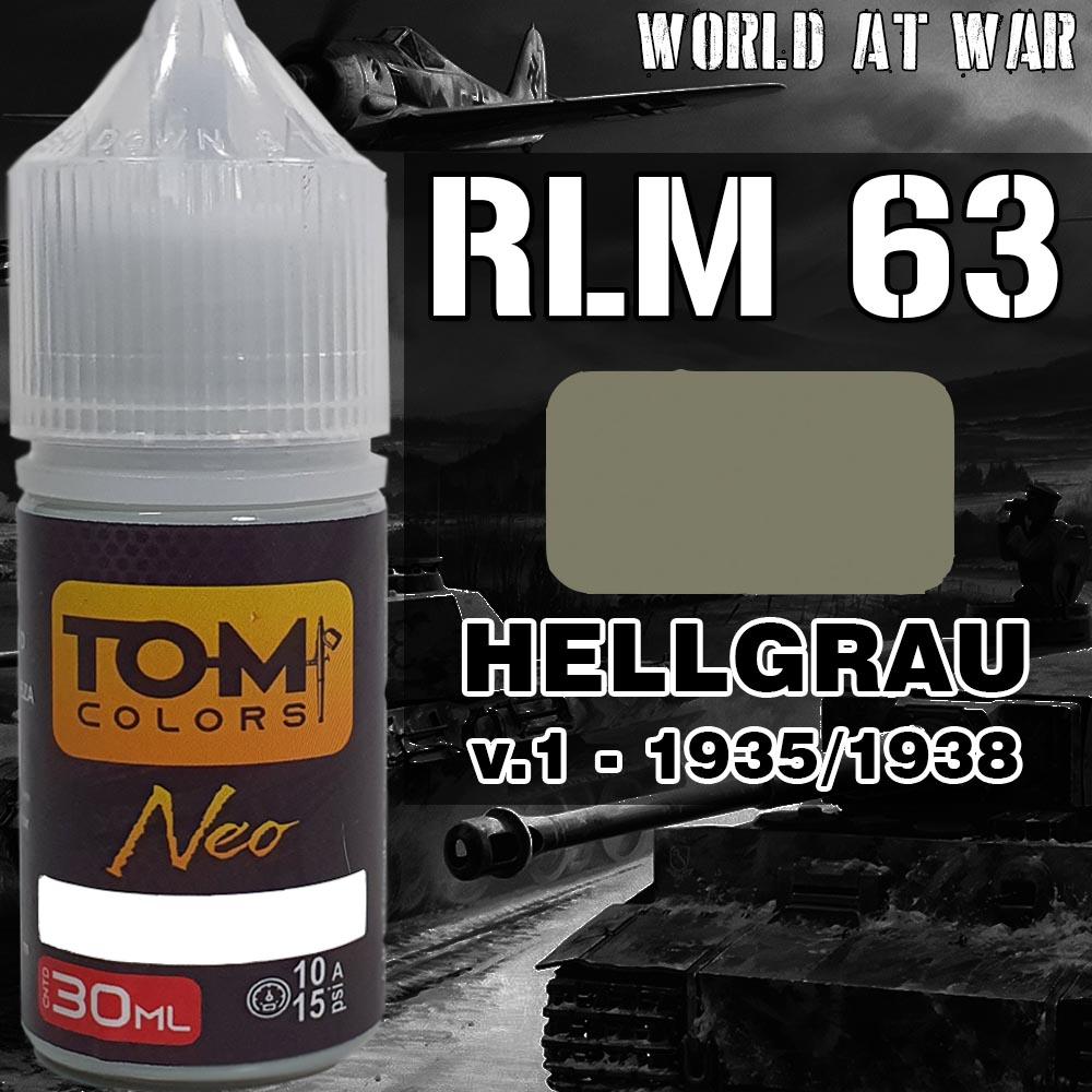 RLM 63 Hellgrau versão 1 (1935-1937)