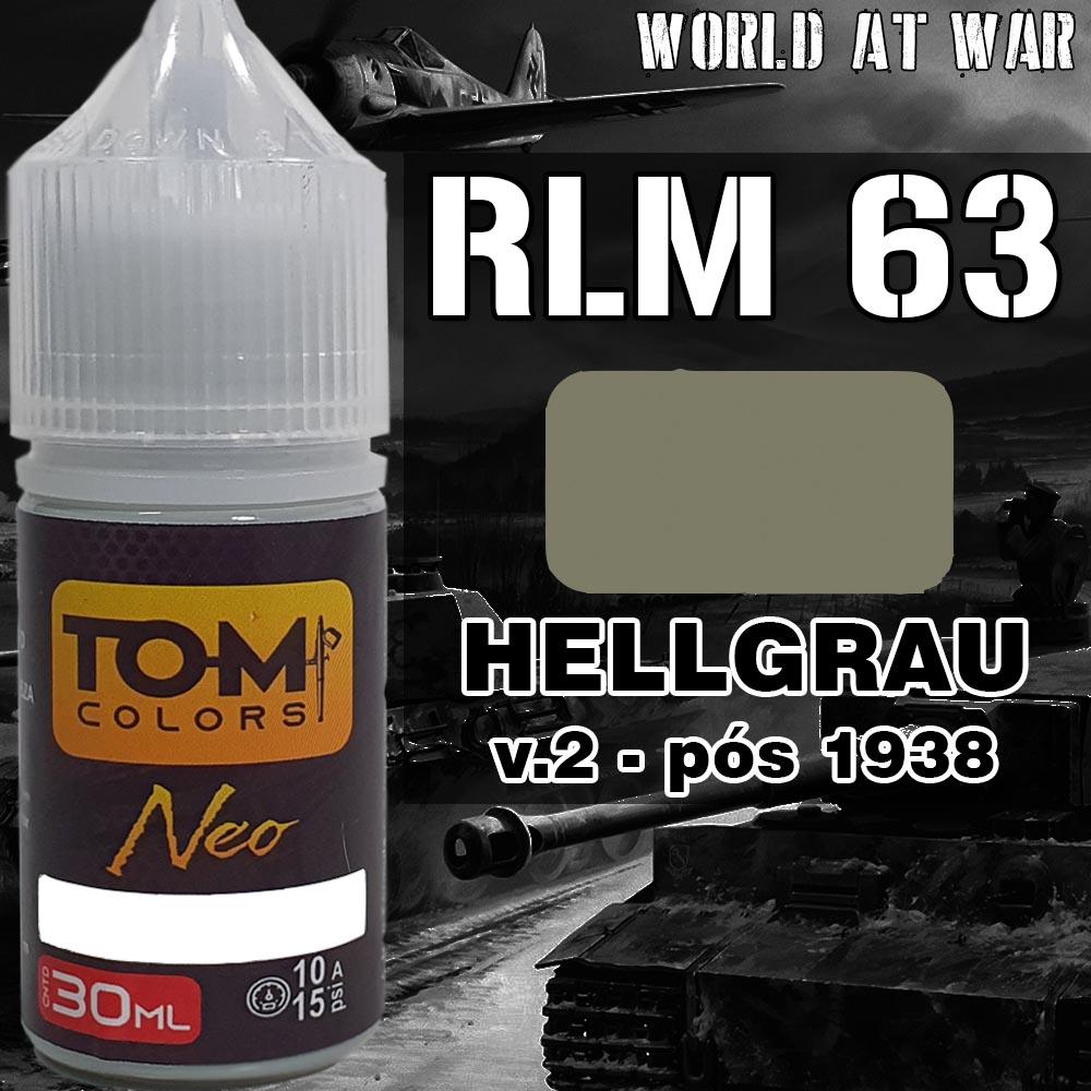 RLM 63 Hellgrau versão 2  (1938)