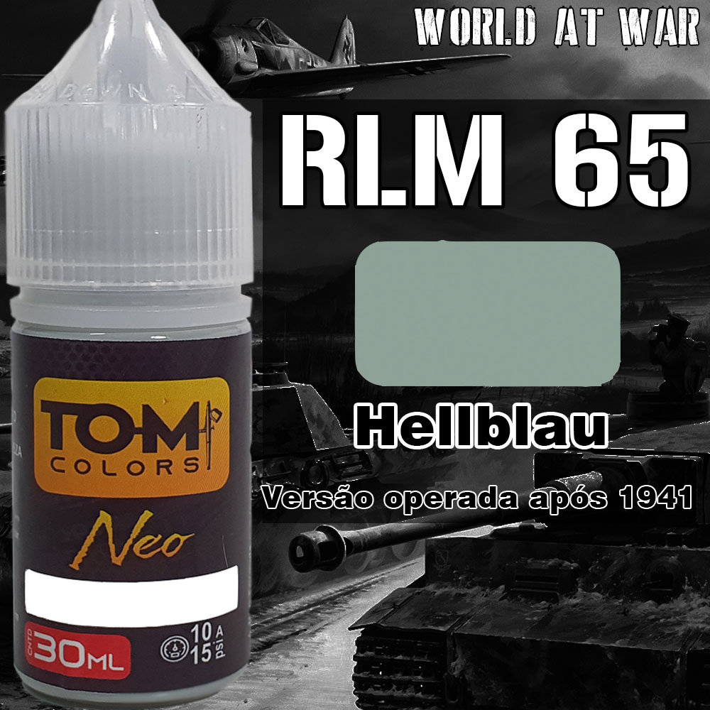 RLM 65 Hellblau 1941