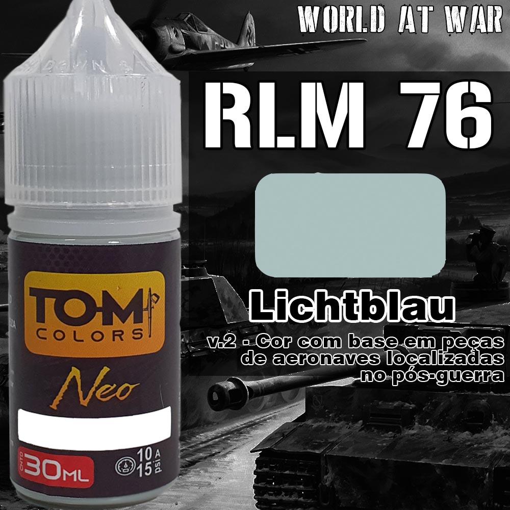 RLM 76 Lichtblau - versão 2