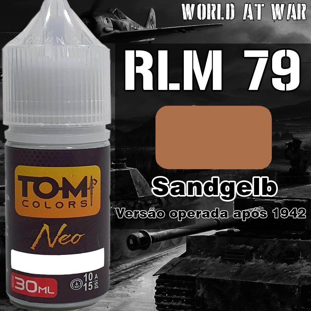 RLM 79 Sandgelb versão 1942