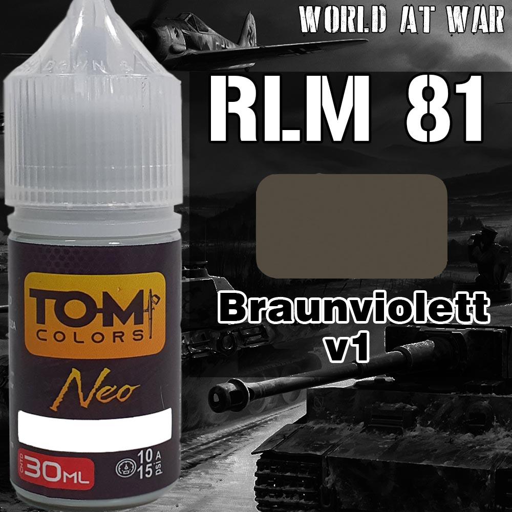 RLM 81 Braunviolett versão 1