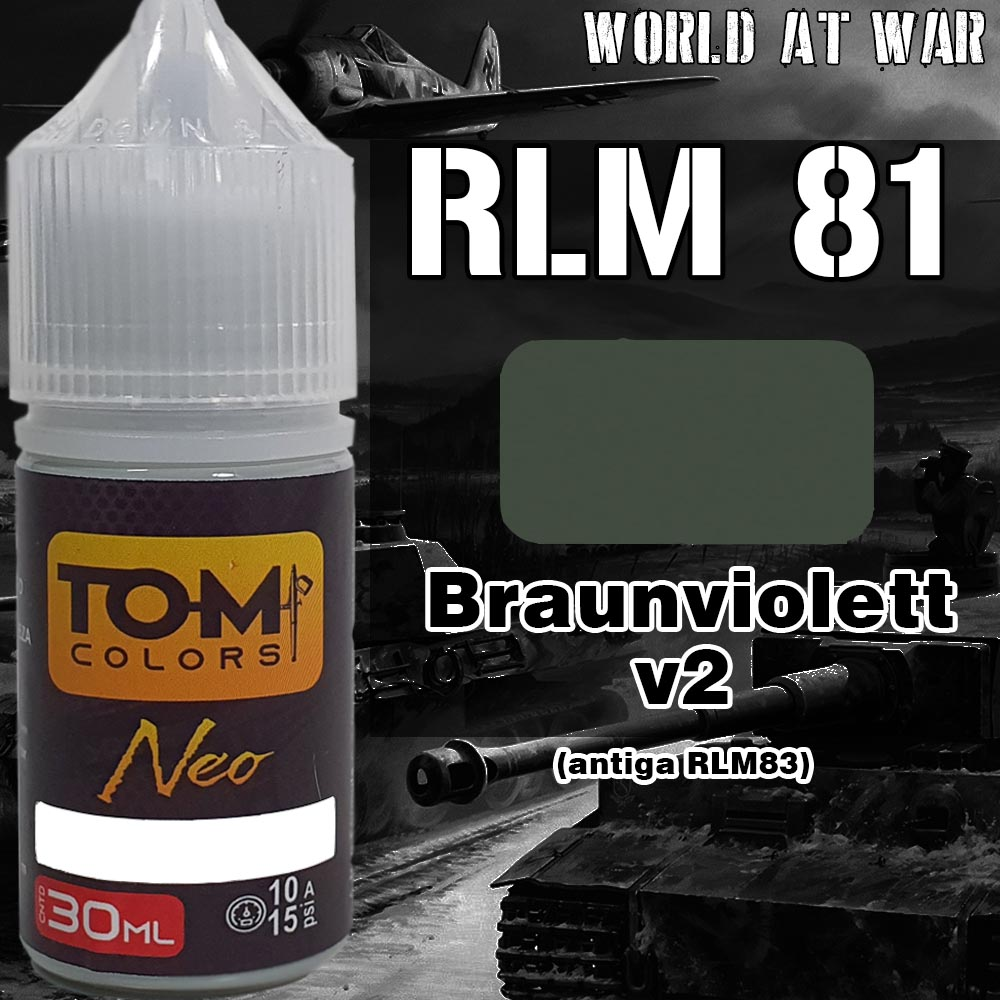 RLM 81 Braunviolett versão 2