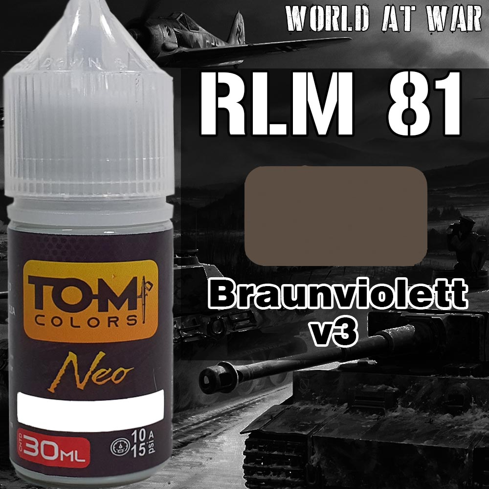 RLM 81 Braunviolett versão 3