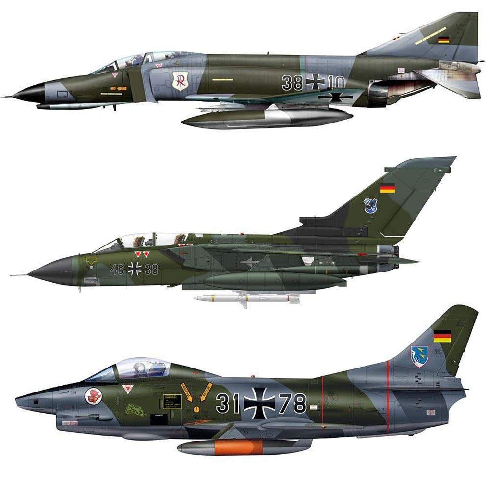 Set Luftwaffe Guerra Fria (set definitivo para todas as versões camufladas)