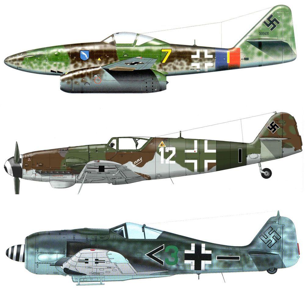Set Luftwaffe Late WW2