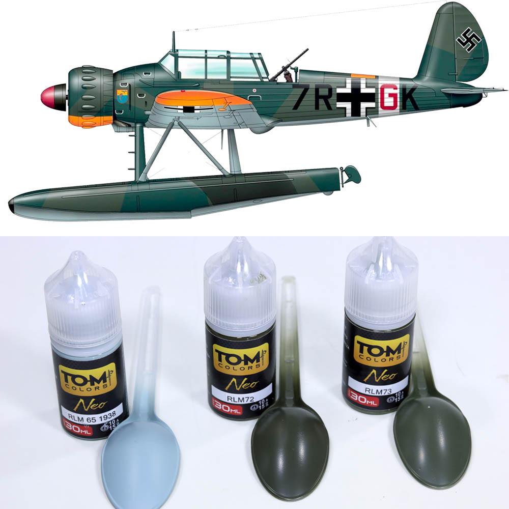 Set Luftwaffe Marítimo - WW2