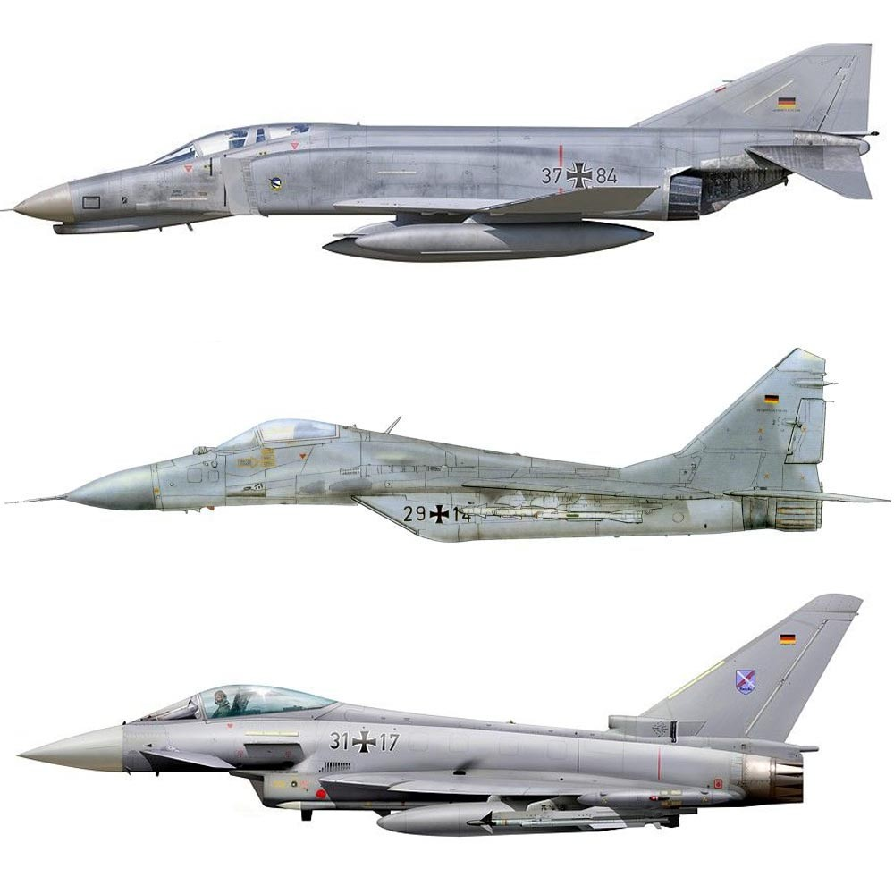 Set Luftwaffe Moderno (pós Guerra Fria - Tons de Cinza)