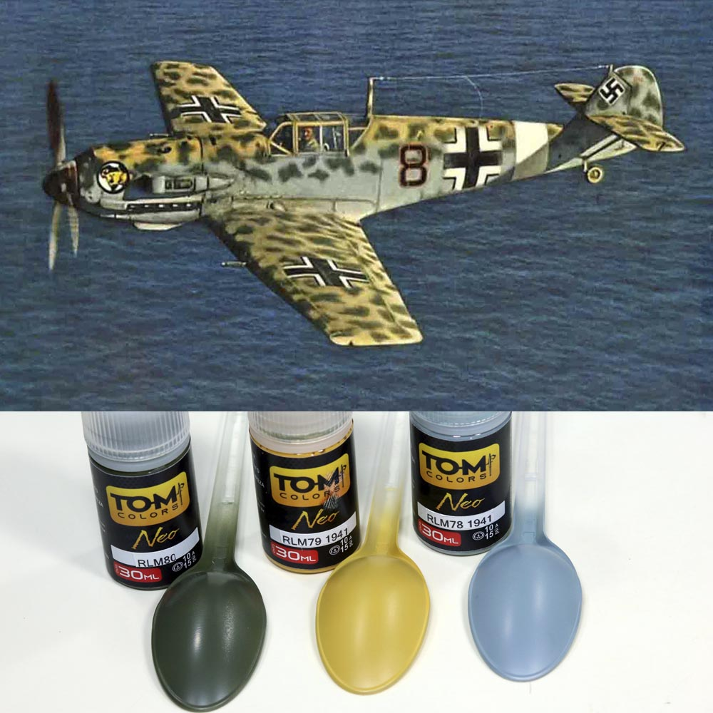 Set Luftwaffe Trop WW2 1941