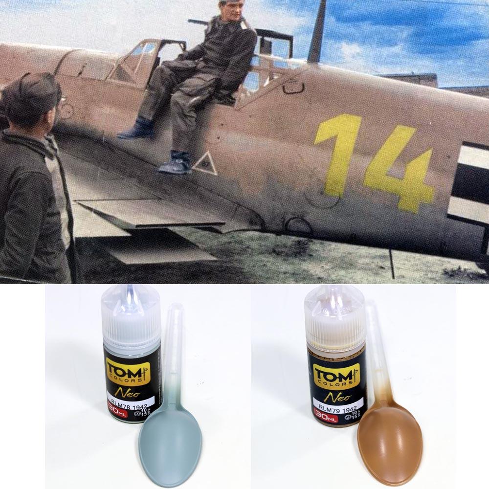 Set Luftwaffe Trop WW2 1942