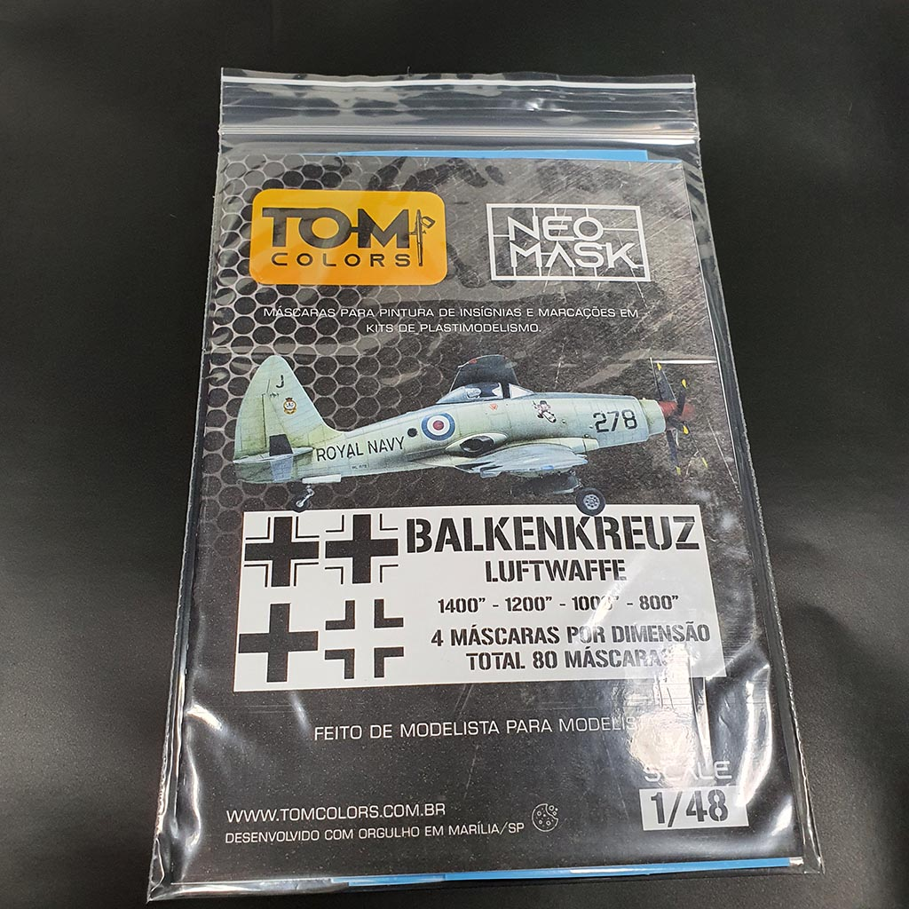 Set Máscaras Balkenkreuz Crossess Luftwaffe