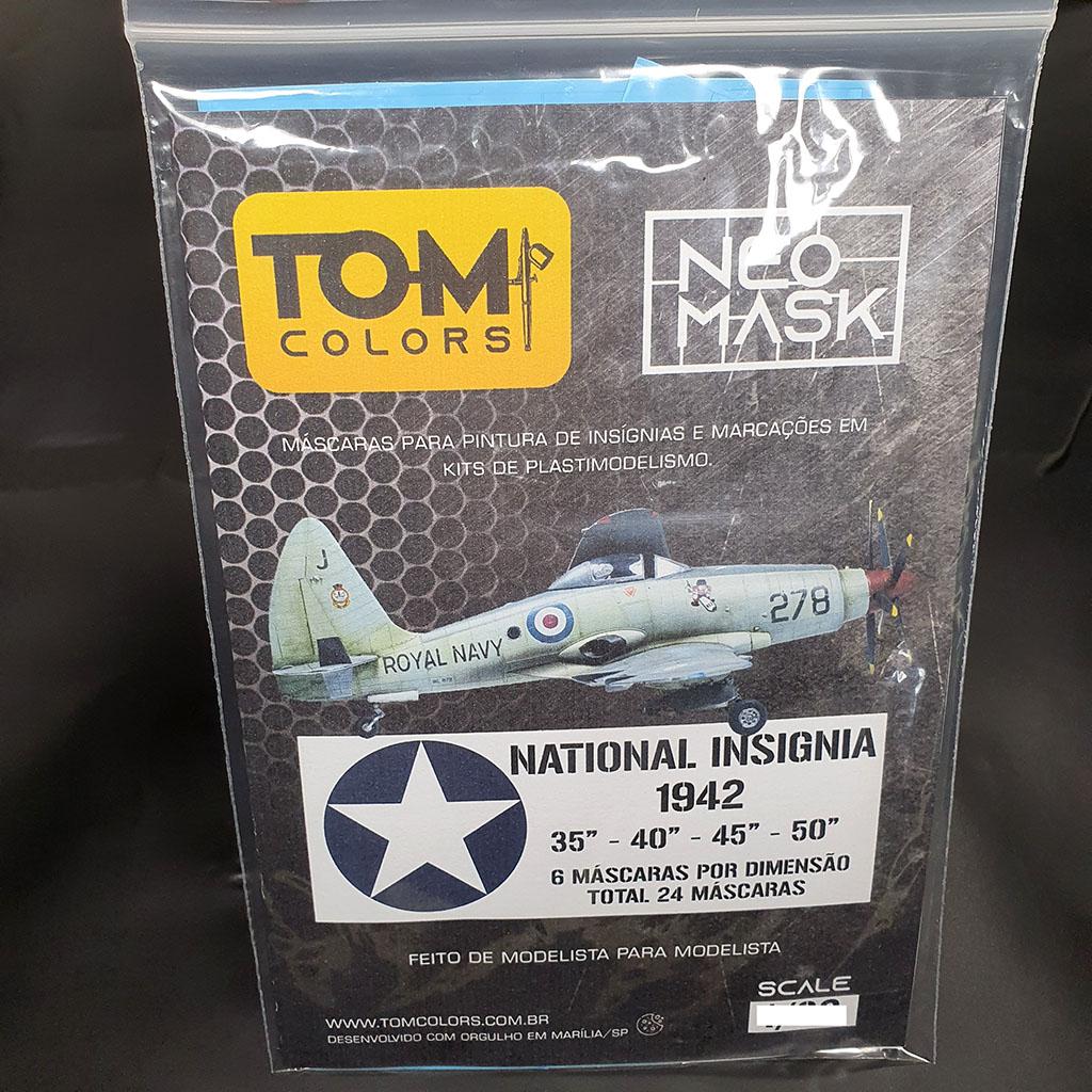 Set Máscaras National Insignia 1942