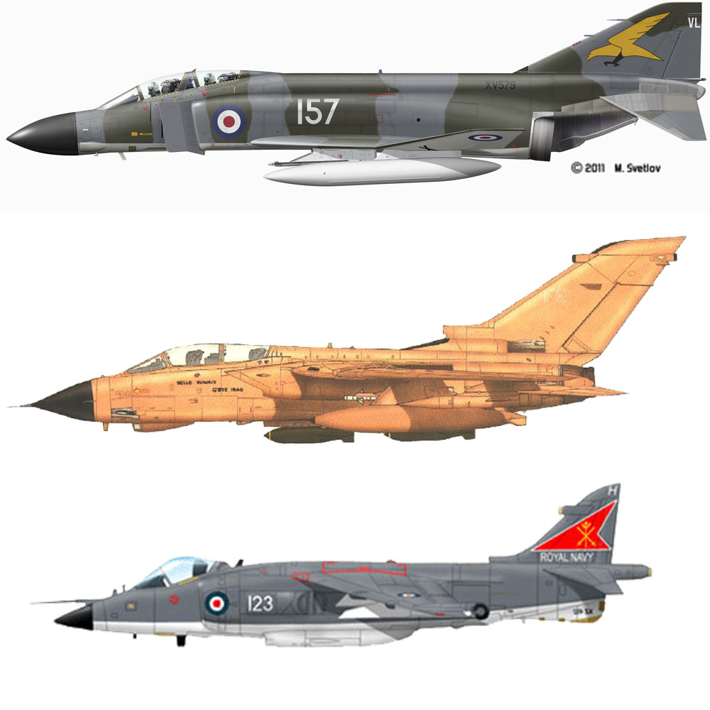 Set RAF Guerra Fria / Atual